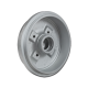 Bremstrommel VW Golf 2, VW Jetta 2, Hinterachse, 191501615A, 1H0501615A, 323501615