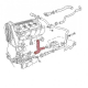 Kühlwasserschlauch VW Golf, VW Jetta 16V, Zylinderkopf/Wasserpumpe, 051121053A