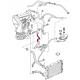 Kühlwasserschlauch, Ölkühler/Zinderkopf, 1.8, 027121096A