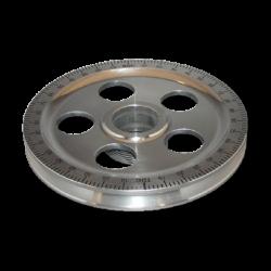 Riemenscheibe schwarz / chrom, AC102353