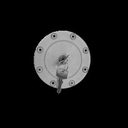 Tankdeckel Fuel Cap poliert, VW Golf 1, VW Golf 2