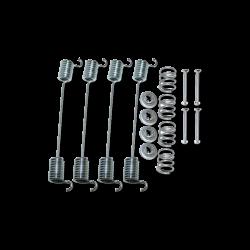 Anbausatz Bremsbacken VW T1, VW T2, Vorderachse, 211609074, 211609070R