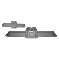 Blende Dachentlüftung VW T3, grau, Westfalia, 255070720A, 253070787G, 1185450306