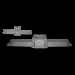 Blende Dachentlüftung VW T3, grau, Westfalia, 255070720A, 253070787G