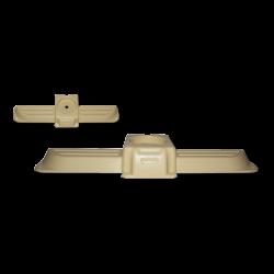 Blende Dachentlüftung VW T3, beige, Westfalia, 253070787T, 253070787