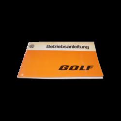 Betriebsanleitung VW Golf 1, 1977