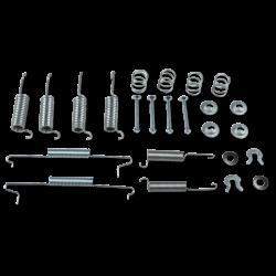Montagesatz Bremsbacken VW T3, Hinterachse, 251698545