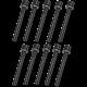 Zylinderkopfschraubensatz VW Golf 1, Jetta, Derby, 049103385S