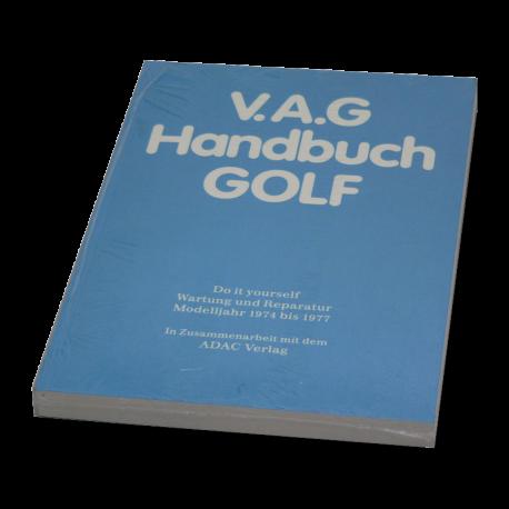 Handbuch VW Golf 1, Scirocco 1, original VW, 00051810000