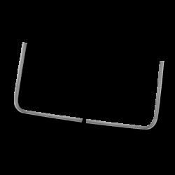 Scheibenrahmeneckteile VW T1, außen, 211805040A