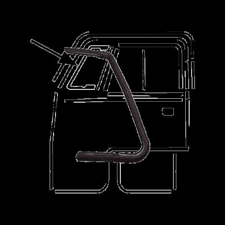 Dichtung VW T1, Drehfenster rechts, 211837626