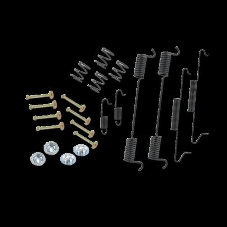 Anbausatz Bremsbacken VW T1, VW T2, Hinterachse, 211609537E