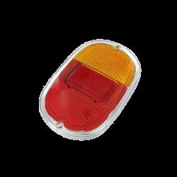 Rückleuchtenglas VW T1, VW T2, VW Kübel, rot, orange, 08/61 -