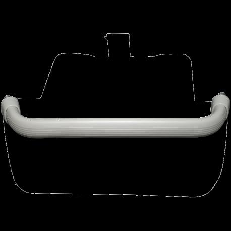 Haltegriff VW T1 Armaturenbrett grau, 211857641B