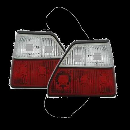 Rückleuchten VW Golf 2, kristall / rot