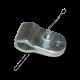 Klammer für Spiegelhalter VW T1, 211857545