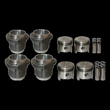 Kolben / Zylinder, VW Käfer, Karmann, 311198069BALT,  311198069B, MAHLE