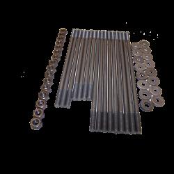 Stehbolzensatz, 8 mm, Doppelkanalkopf