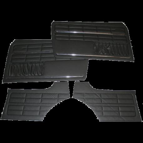 Seitenverkleidung Karmann Ghia Coupe, schwarz, 08/63-, 141898320B
