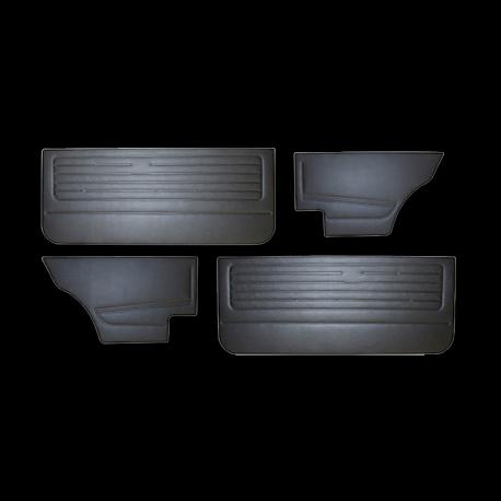 Türverkleidungen VW Golf 1, VW Jetta 1, schwarz, 171898320B