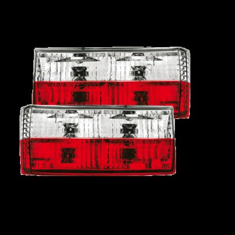 Rückleuchten VW Golf 1 rot/ weiß